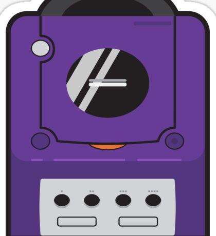 Purple Gamecube Sticker
