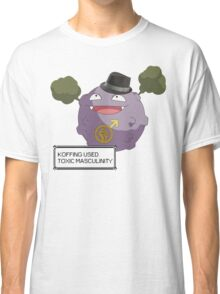 Koffing Used Toxic Masculinity! Classic T-Shirt