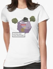 Koffing Used Toxic Masculinity! Womens Fitted T-Shirt