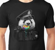Police Panda Lollypop Unisex T-Shirt