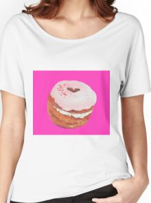 Cronut painting Women's Relaxed Fit T-Shirt