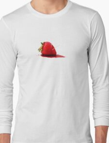 Strawberry Death Long Sleeve T-Shirt