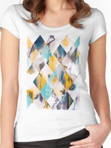 Diamonds I Women's Fitted Scoop T-Shirt
