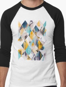 Diamonds I Men's Baseball ¾ T-Shirt