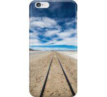 Railway in Atacama Desert, Uyuni desert, Bolivia iPhone Case/Skin
