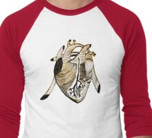 Empty Heart Men's Baseball ¾ T-Shirt