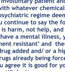 Catch psychiatric Sticker