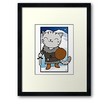 RPG Kitty Framed Print
