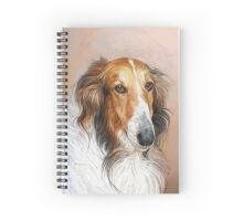 Borzoi Aristocrat Spiral Notebook