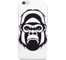 Gorilla agro head iPhone Case/Skin