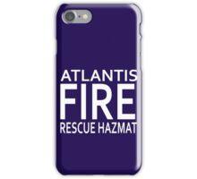Atlantis Fire, Rescue & Hazmat iPhone Case/Skin