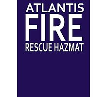 Atlantis Fire, Rescue & Hazmat Photographic Print