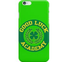 Good Luck Academy iPhone Case/Skin