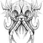 Lord Cthulu Drawing! by LukeCSuarez