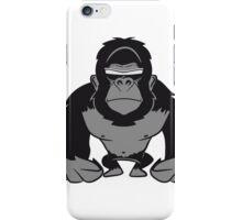 Gorilla agro cool sunglasses iPhone Case/Skin