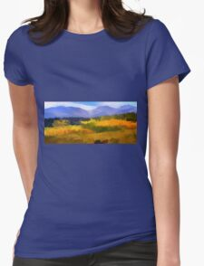 Carpet of Fall Color  Womens Fitted T-Shirt