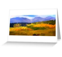 Carpet of Fall Color  Greeting Card