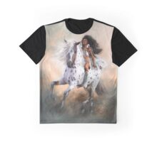 White Storm Graphic T-Shirt