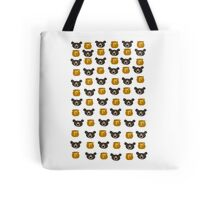 Bear And Honey Pot Pattern Tote Bag