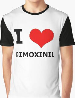 I Heart Dimoxinil Graphic T-Shirt