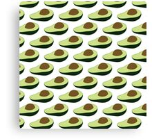Avocados are alligator pears or fertility fruit Canvas Print