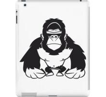 Gorilla agro cool sunglasses iPad Case/Skin