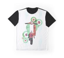 Watercolour scooter art Graphic T-Shirt