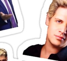 Milo Yiannopoulos Sticker (Set Of 4) Sticker
