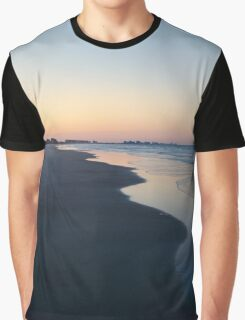 Peach Coast Graphic T-Shirt