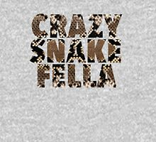 Crazy Snake Fella Womens Fitted T-Shirt