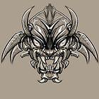 Shogun Demon by LukeCSuarez