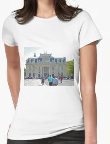 Central Post Office Building, Santiago Womens Fitted T-Shirt