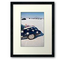 World of Speed Framed Print