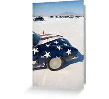 World of Speed Greeting Card