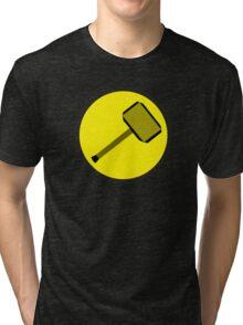 Captain Mewmew Tri-blend T-Shirt