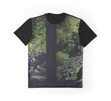 Mount Scoria Diptych Graphic T-Shirt