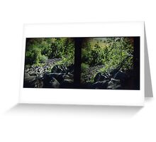 Mount Scoria Diptych Greeting Card