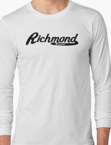 Richmond Virginia Vintage Logo Long Sleeve T-Shirt