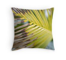 Burnt Palm Throw Pillow