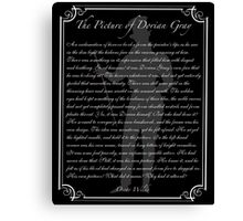 The Picture of Dorian Gray Canvas Print