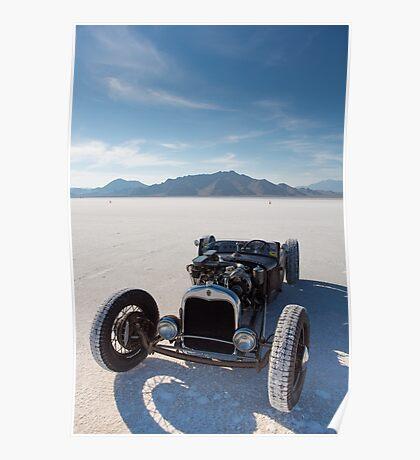 Vintage Packard racing car Poster