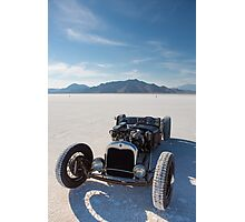 Vintage Packard racing car Photographic Print