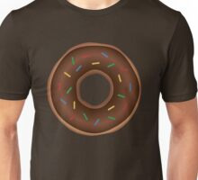 Chocolate donuts yummy snack Unisex T-Shirt