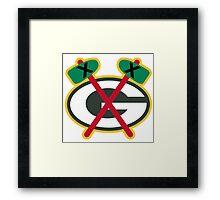 Greenbay Blackhawks Framed Print