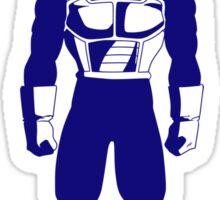 Saiyan warrior (Blue) Sticker