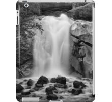 Helen Hunt Falls #2 (Black and White) iPad Case/Skin