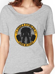 Know No Fear (large badge) Women's Relaxed Fit T-Shirt