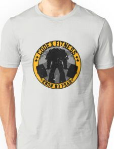 Know No Fear (large badge) Unisex T-Shirt