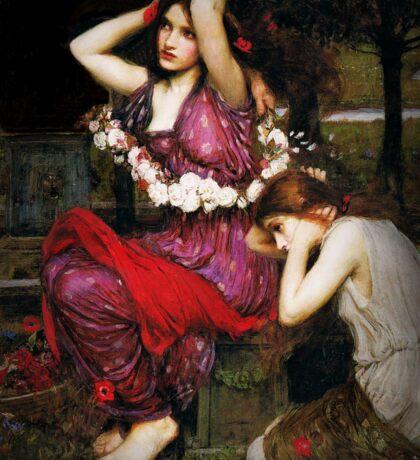 Flora and Her Maidens Sticker