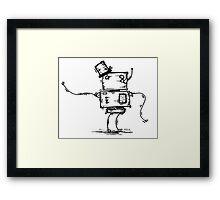 Em the robot Framed Print